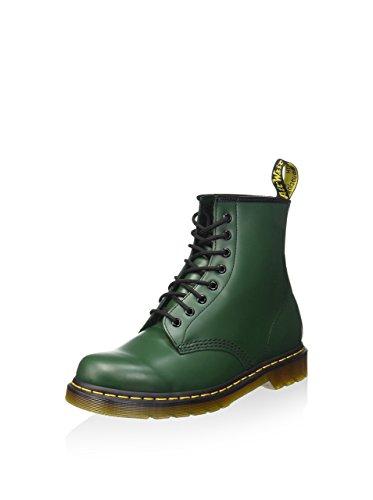 Dr. Martens 1460, Botas Militares Unisex Adulto, Verde (Green Smooth), 40 EU