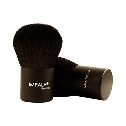 Impala Pennelli N17 Kabuki Brush di lusso Viso manico corto fondazione bronzer