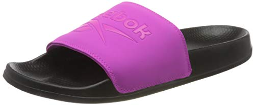 Reebok Unisex-Erwachsene Classic Slide Sandale, Pink (Rbk Lieferantenfarbe / Rbk Lieferantenfarbe / Schwarz), 39 EU (6 UK)