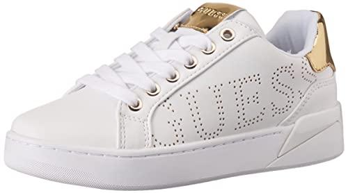 Guess RORIA, Zapatillas Deportivas Mujer, Blanco, 39 EU