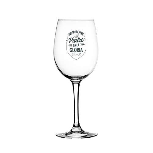 Mr. Wonderful Copa de vino - No molesten. Padre en la gloria.