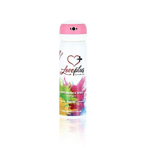 Love Plus Performance Spray (Banane)   gegen vorzeitigen Samenerguss   für mehr sexuelle Ausdauer (60ml) - Delay Spray für aktive Männer