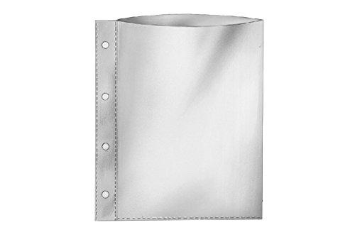 REIF-A4+-Prospekthüllen 18340, extra groß für bis zu 80 Blatt Papier, 0,160 mm, Inh. 100 Hüllen