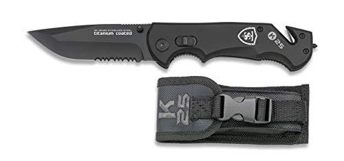 TS Knife   K25 Seguridad Navaja Cuchillo Plegable de Bolsillo con Seguro...
