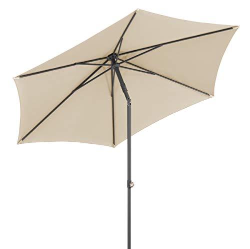 Schneider-Schirme Sevilla 270 cm Ø Sonnenschirme, Natur