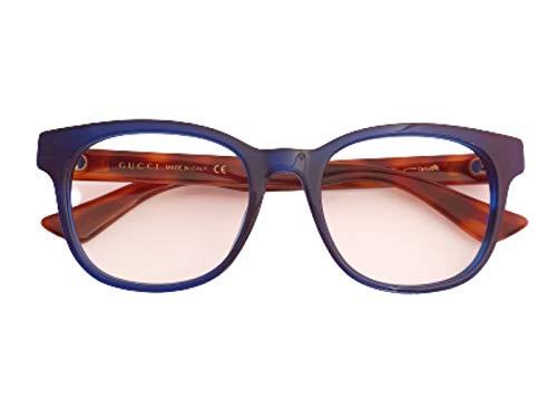 Gucci occhiale vista da donna GG0005O Blu, 53