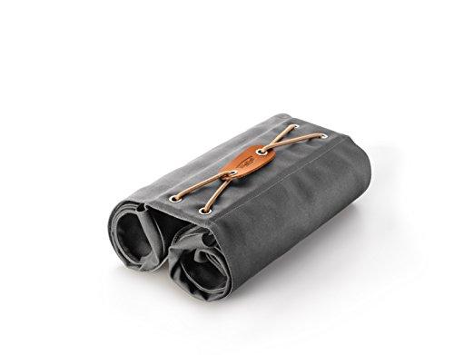 Brooks England Ltd. Unisex Adult Pannier Gepäckträgertaschen, Grey, 12 x 35 x 36 cm