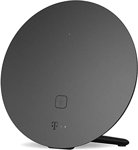Telekom Speed Home WLAN für Ihr starkes & stabiles Heimnetzwerk I Wi-Fi 6 fähiger Verstärker mit Mesh-Technologie für optimale Internet-Abdeckung, 4.800 Mbit/s I Plug & Play per WPS, 2 LAN-Anschlüsse