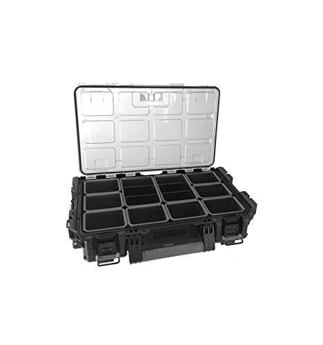 Keter 240457 - Organizador (56 x 34,5 x 12,8 cm), color negro