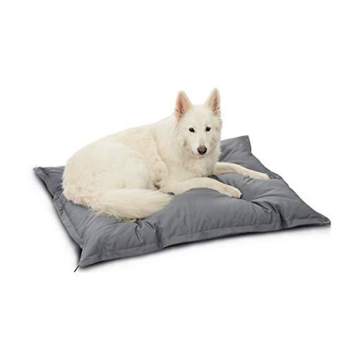 Palina® Einlegekissen für Hundebett (S-XXL, grau), 95 Grad waschbar, medizinische Sauberkeit, widerstandsfähig, kuschelig, orthopädisch, Öko-Tex Standard 100 (M, Grau)