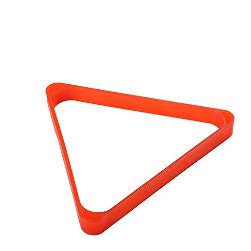 GEREP Dreieck Billard Ball Rack 15 Bälle, stark,Billard-Triangel wasserdicht und leicht zu reinigen