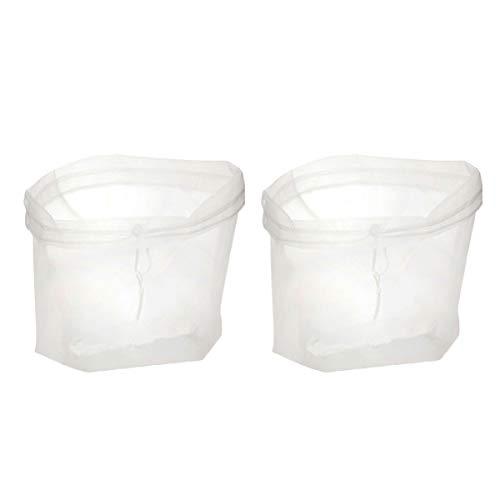 YARNOW 2Pc Nussmilchbeutel Wiederverwendbare Passiertuch 30 * 30 Cm Mandelmilch Filterbeutel für Käse Joghurt Saft Wein Suppe Kräuter