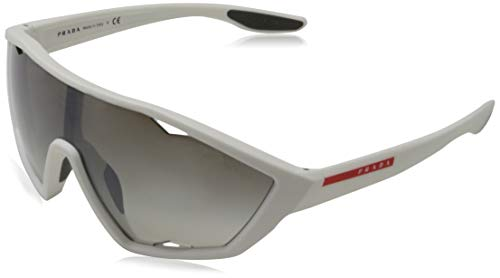 Ray-Ban heren 0PS 10US zonnebril, bruin (wit rubber), 40.0