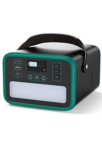 BEAUDENS Générateur d'Énergie Solaire Portable 240Wh, Batterie LiFePO4 Générateur de batterie pour voyage d'urgence camping