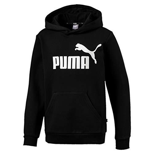 PUMA Jungen Sweatshirt ESS Logo FL, Cotton Black, 128, 852105