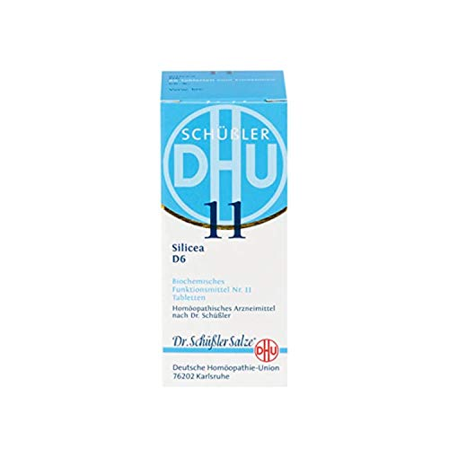 DHU Schüßler-Salz Nr. 11 Silicea D6 Tabletten, 200 St. Tabletten