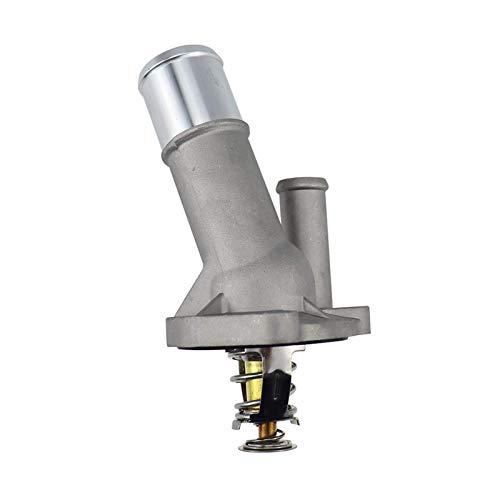 Cubierta de aluminio del termostato del refrigerante del motor LF70-15-170 LF7015170 para Mazda 3 5 2004-2014 para Ford Focus