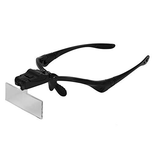runaty Kopfbandlupe, kopfbeleuchtetes Vergrößerungswerkzeug-Zubehör, das zur Reparatur von Uhren und Uhren verwendet Wird