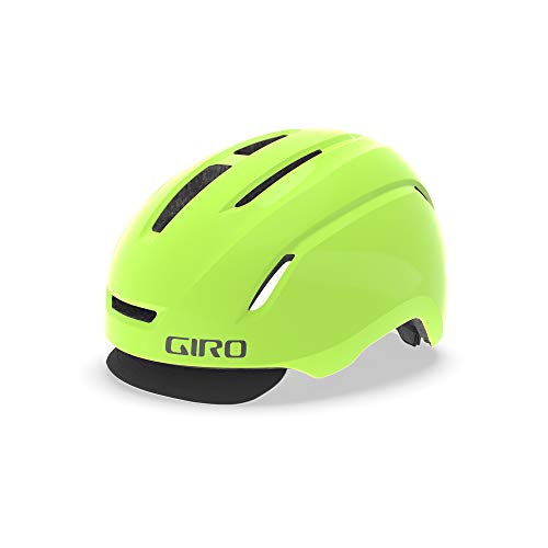 Giro Unisex– Erwachsene Caden Fahrradhelm Urban, Matte Highlight Yellow, L (59-63cm)