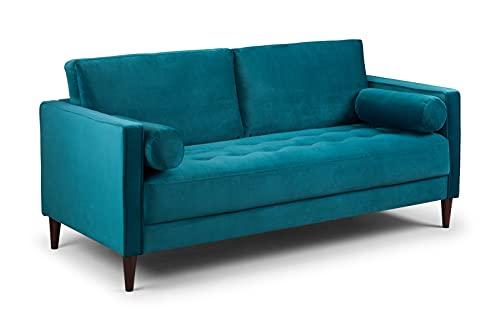 Honeypot - Harper - Sofa - 4 Seater - 3 Seater - 2 Seater - Armchair - Blue - Beige - Plush Grey - Green - Plush Velvet (3 Seater, Teal)