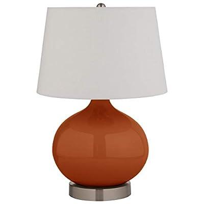 Stone & Beam Slate Blue Ceramic Lamp