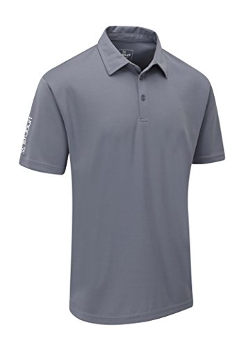Stuburt Men's Sport Tech Polo Shirt-Storm, X-Large