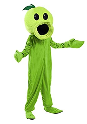 Plants Vs Zombies Peashooter Costume Kids Plants Vs Zombies Costumes for Boys Medium (8-10) from