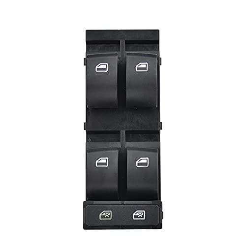 KUANGQIANWEI Control del Interruptor de la Ventana del Motor del Conductor del Coche Ajuste para 98-05 FIT para Audi A6 C5