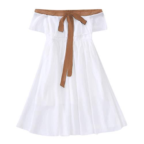Julhold Teen Kids Baby Meisjes Mouwloos Grenadine Kralen Hanger Katoen Slanke Jurk Outfits Set 3-13 Jaar