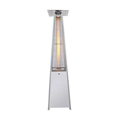 ZBL Calentadores de Gas para Patio piramidal Protección contra vertidos de Gas LPG Calentadores Triangulares de jardín para Exteriores