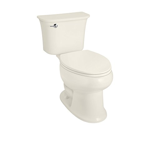 STERLING 402075-96 Stinson Elongated 1.6 GPF Toilet, 12-inch Rough-In, Biscuit