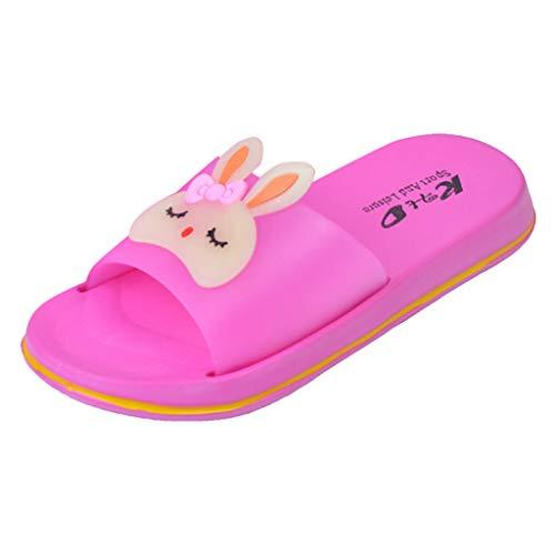 Kinder Hausschuhe Jungen Kleinkind Kinder Unisex Mädchen Jungen Cartoon Kaninchen Schuhe Haushalt Hausschuhe Supersoft Hausschuhe-Pwtchenty