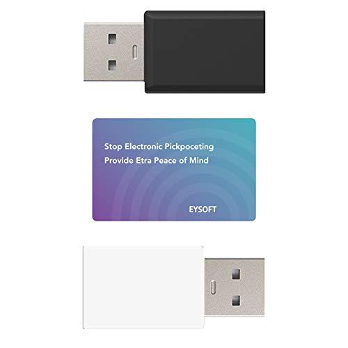 USB-Datenblocker, RFID-blockierende Karte, 1 Packung, blockiert unerwünschte Datenübertragungen, hält Ihr Smartphone sicher und schützt die Brieftasche vor elektronischem Diebstahl.