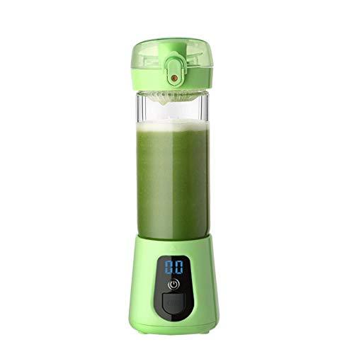 YousimanZ Frisch gepressten saft der Auto - Mobile saftpresse 4 Blätter 420ML grün.