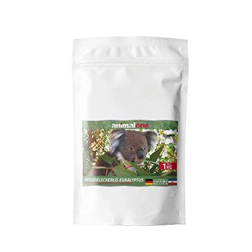 equizone - PFERDELECKERLIS EUKALYPTUS 1 KG Beutel - das gesunde Leckerli für Ponys und Pferde