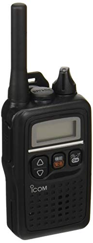 アイコム 特定小電力トランシーバー 47ch中継タイプ ブラック IP67防塵/防水 IC-4350