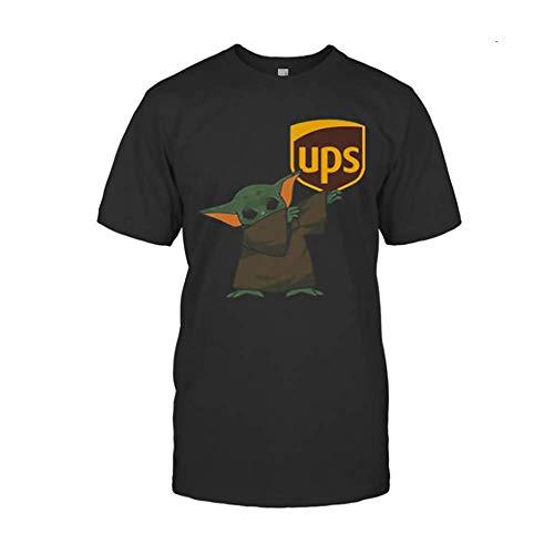 Dabbing Bäbÿ yödä Mäsk Ups Logo Cörönävïrüs Shirts for Men Women, Crew Neck Short Sleeve Gifts