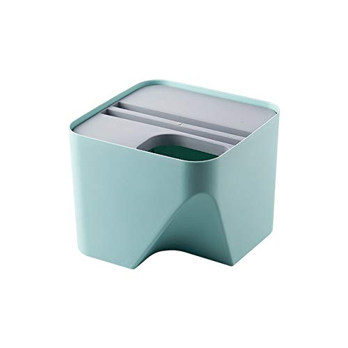WUJIANCHAO Kitchen Trash Can Recycle Bin Stacked Sorting Trash Bin Household Dry And Wet Separation Waste Bin Rubbish Bin for Bathroom 1pc Waste Bins