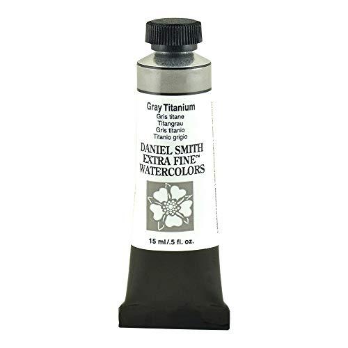 Daniel Smith Watercolor, 15 Milliliter Tube, Gray Titanium (284600241)