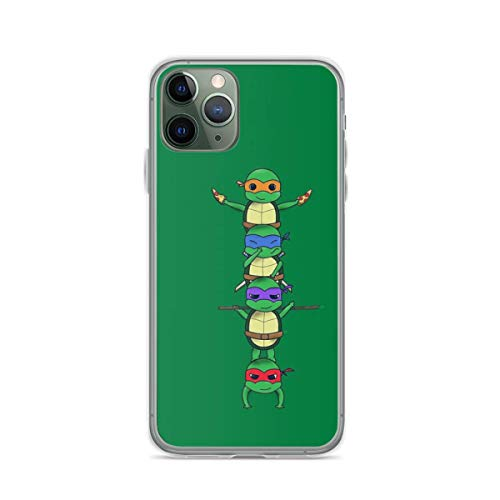 Phone Case Ninja Turtle Compatible with iPhone 6 6s 7 8 X XS XR 11 Pro Max SE 2020 Samsung Galaxy Waterproof Anti