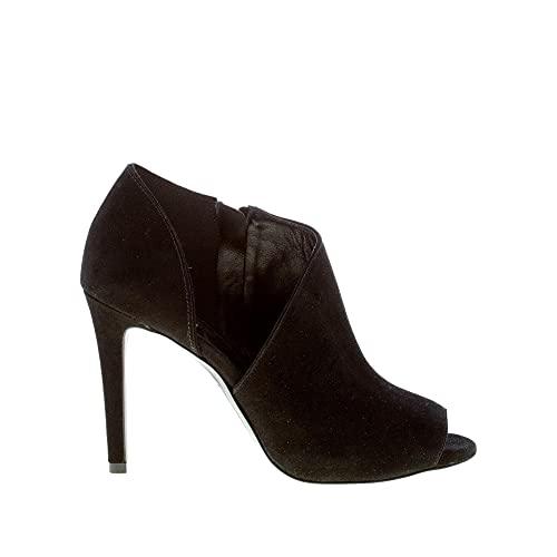 Michael Kors Chaussures Femmes 40T9ELHE5S Elodie Bootie Daim Noir