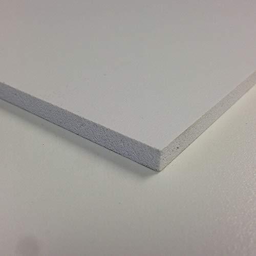 Foamex PVC-Hartschaumplatte 3mm, weiß, matt, weiß, 420mm x 297mm / A3