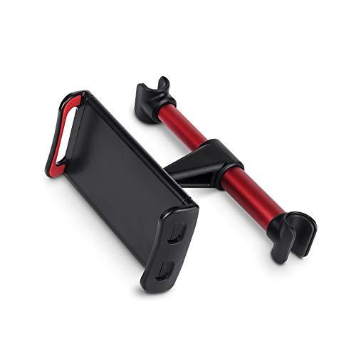Car Tablet Têtière Mont, Ajustable Support d'appui-tête de Voiture pour Téléphones Air Mini Samsung Galaxy Tabs Nintendo Switch 4-11 Pouces