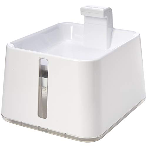 AmazonBasics Pet Fountain - Large, White