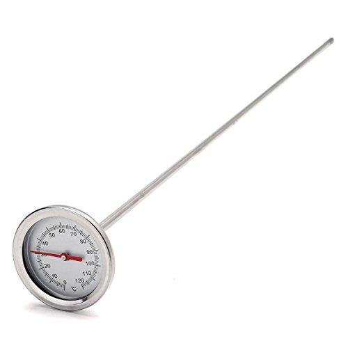 SGerste 0°C-120°C 50cm Länge Premium Edelstahl Kompost Erde Thermometer Erde Monitor