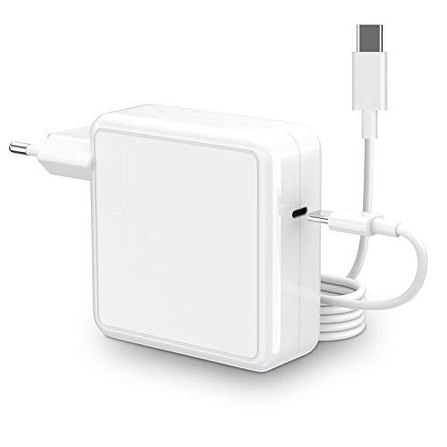 Caricatore Mac Book Pro Caricatore USB C adattatore 96W Compatibile con USB C 96W e 87W e 61W e 30W Ricarica rapida per Mac Book Pro 13 '' 15 '' 16' e Mac Book Air 13 pollici 2020/2019/2018