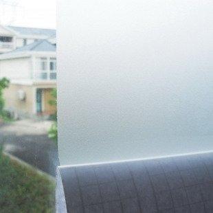 Vinilo acido arenado traslucido color super claro, para cristal, mampara, ventana, etc. Medida: 70x120cm