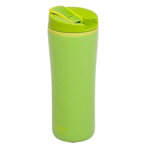 Aladdin 33028 Thermobecher / Isolierbecher aus eCycle, doppelwandig isoliert, 0,35 L, grün