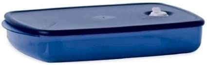 Tupperware Vent Now on sale 'N Serve Los Angeles Mall Large Indigo Shallow by in