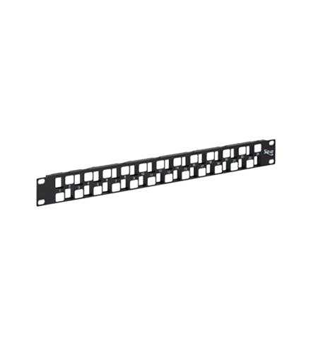ICC Rack Mounted Steel Patch Blank Panel EZ,Pre-Numbered 24-Port, 1...